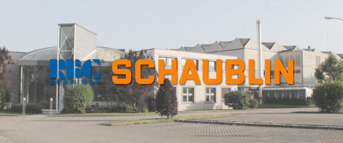 La sede Schaublin SA di Delémont (Svizzera)