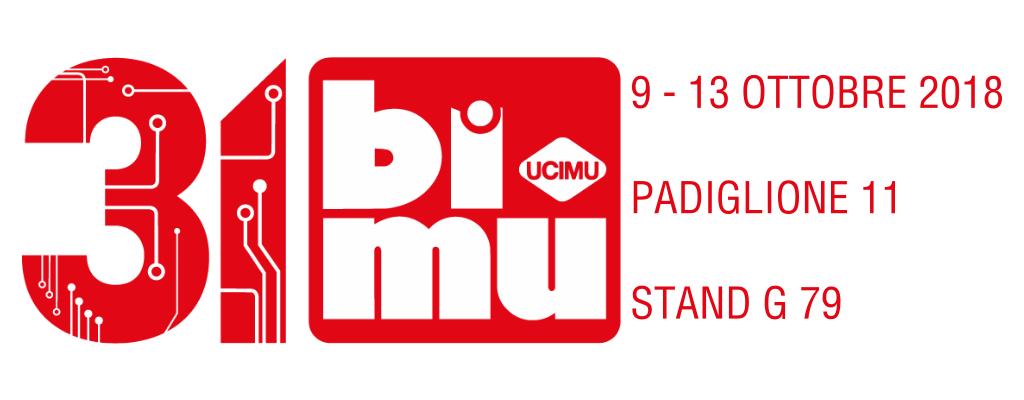 Vemas sarà presente alla fiera Bimu dal 9 al 13 ottobre 2018. Padiglione 11 stand G79