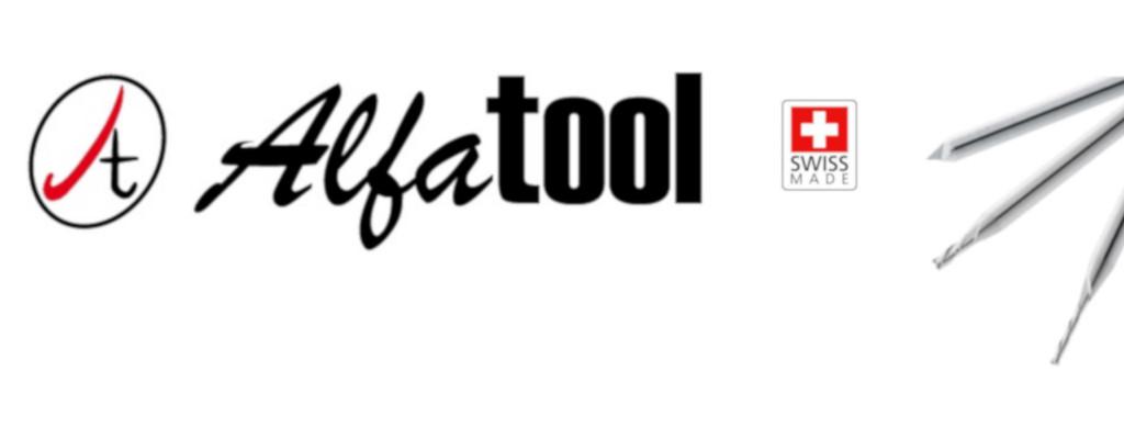 Logo Alfatool e microfrese in metallo duro