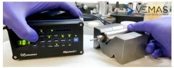 prodotto Nakanishi in riparazione presso i laboratori Vemas