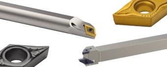 Inserti ISO 55° (tipo D) per Multidec ISO