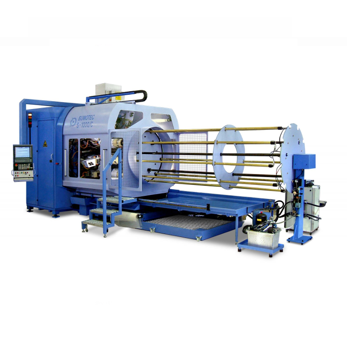 Bumotec S1000C per elevate produzioni di particolari fresati