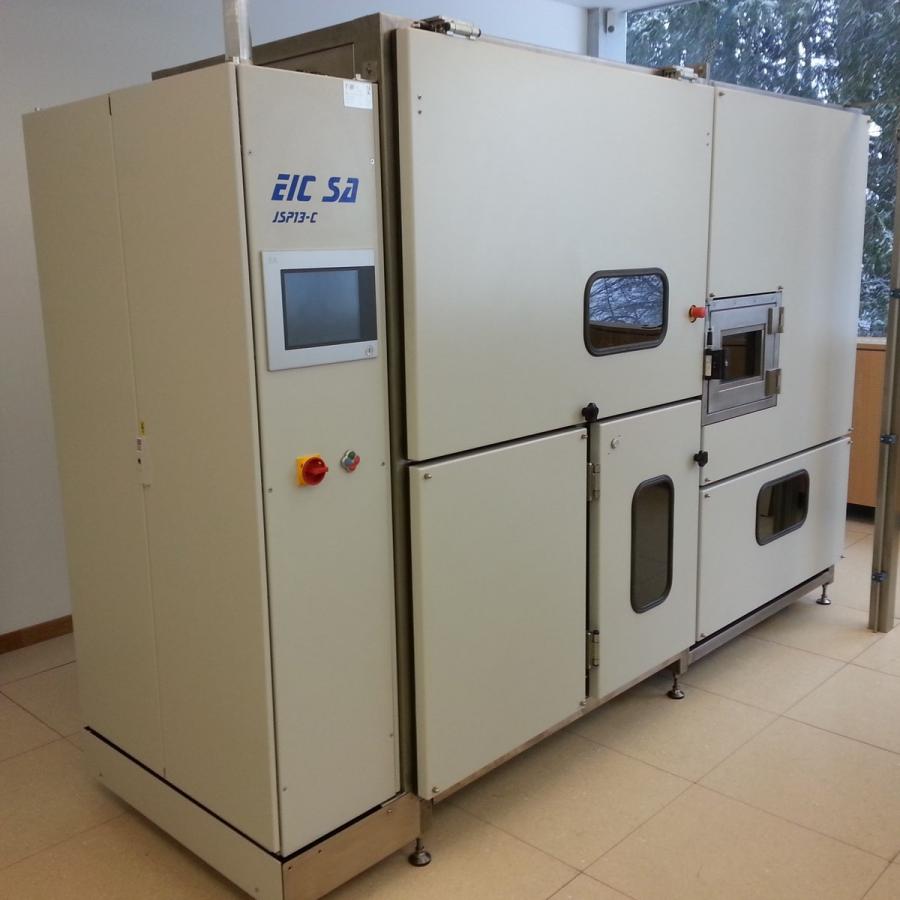 Centro di sbavatura automatica a getto d'acqua EIC JSP13