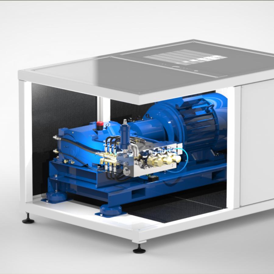 pompa ad alta pressione EIC31 100 1000 bar