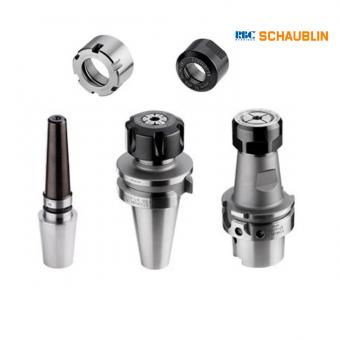 Shaublin, utensileria per macchine utensili, pinze di serraggio