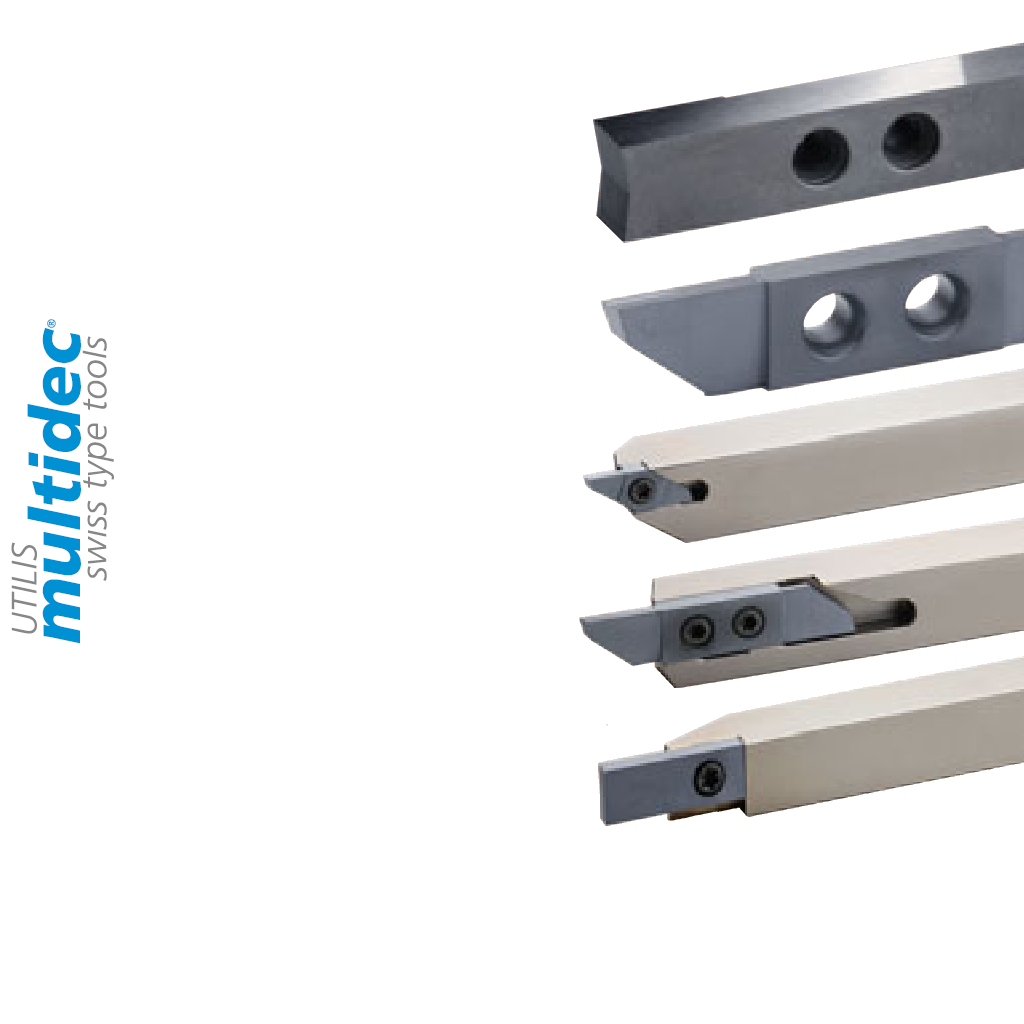 inserti e porta utensili utilis multidec in metallo duro